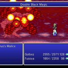 Double Black Magic Firaga in <i>The After Years</i> (Wii).