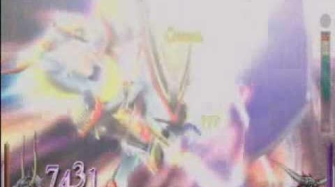 Dissidia Final Fantasy - Warrior of Light's EX Burst