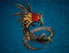 FFD2 Wrieg Kaiser Dragon Art Alt2