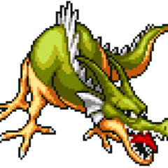 Green Dragon [Hoshi no Dragon Quest].