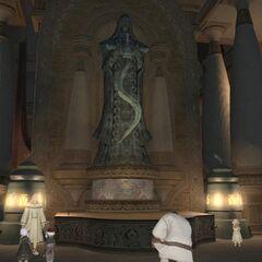 Perdra de Nald'thal em <i>Final Fantasy XIV</i>.