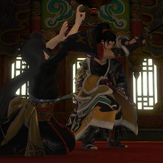 Hien finishes off Yotsuyu.