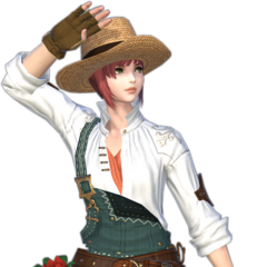 Fieldfiend's Set from <i>Final Fantasy XIV: Shadowbringers</i>.