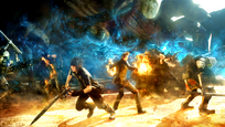FFXV Party Battle