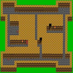 Castle Palamecia's First Floor (NES).