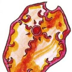 Flame Shield in <i>Final Fantasy Adventure</i>.