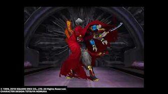 Gilgamesh defeats Seifer in FINAL FANTASY VIII Remastered