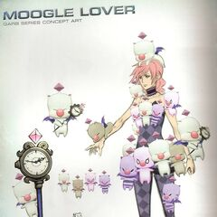 Concept art of Moogle Queen.
