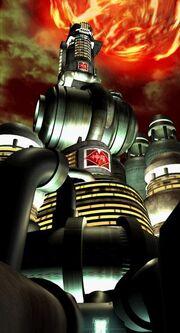 Shin-Ra Building-Meteor