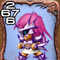 Faris as a Gladiator.