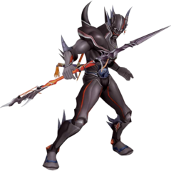 Render of Cecil's Amano appearance as a Dark Knight.