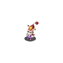 Moogle Time Mage sprite in <i>Final Fantasy Tactics S</i>.