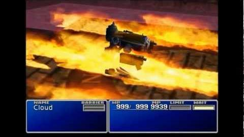 Hellfire - Ifrit summon sequence - FFVII