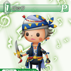 Locke in his <i>Theatrhythm</i> appearance.