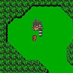 O <i>Dreadnought</i> no mapa do mundo (NES).