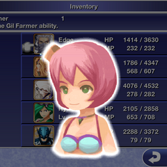 Dancing Girl's augment portrait (iOS).