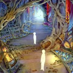 Pathway to the Farplane concept artwork for <i>Final Fantasy X</i>