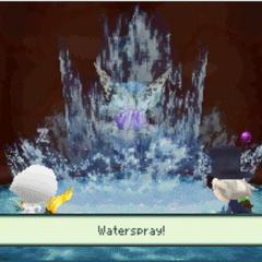 Waterspray