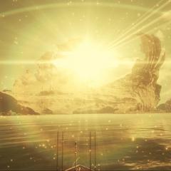 Катсцена, проигрываемая при приближении к острову на королевском корабле.