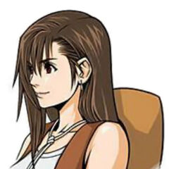 Tifa's portrait in <i>Before Crisis -Final Fantasy VII-</i>.