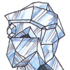 Concept art of Diamond Helm from <i><a href=
