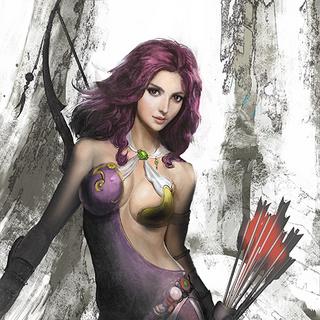 Maria artwork by Toshitaka Matsuda.