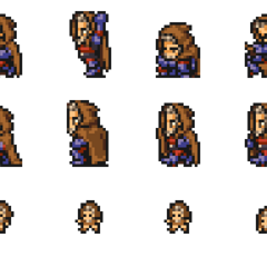 Set of Orlandeau's sprites.