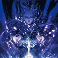 Shiva and Lady Iceheart in a promotion for <i>Dreams of Ice</i>.