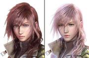 Lightning-faces