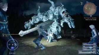 После 280 часов игры в Final Fantasy XV найдена секретная анимация парирования