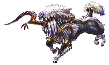 FF10 Ixion Artwork
