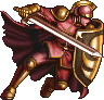 FF4PSP Flame Knight