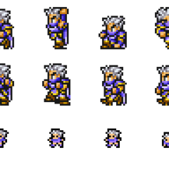 Set of Edge's sprites.