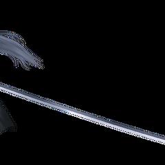 Sephiroth's <i>Final Fantasy VII</i> render from <i>Dissidia 012 Final Fantasy</i>.
