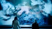 Ardyn and Verstael visit Ifrit in FFXV Episode Ardyn