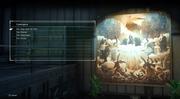 Cosmogony lore menu in FFXV Episode Ardyn