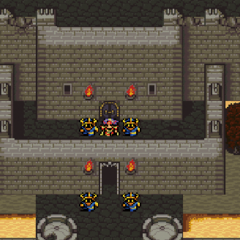 Japanese dungeon image for <i>Dwarven Castle</i> in <i><a href=
