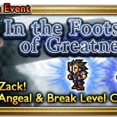 Global event banner for In the Footsteps of Greatness.