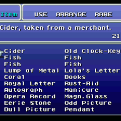 List of rare items (SNES).