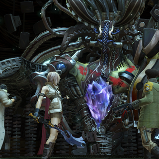 The party confronts Anima.