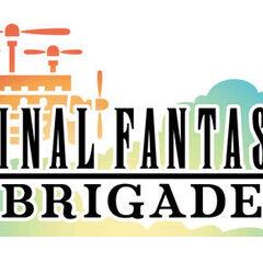 <i>Final Fantasy Airborne Brigade</i> – Japanese logo.