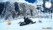 Prompto-Aranea-Snowmobile-FFXV