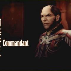 Commandant.