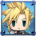 DFFNT Player Icon Cloud Strife PFF 001