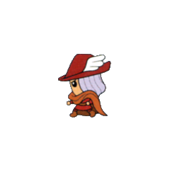 Artwork of the Red Mage job class from the <i>V-Jump</i> strategy guide for the <a href=