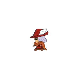 Red Mage (from <i>V-Jump</i> Strategy Guide for the Wonderswan Color).