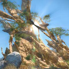 Perdra de Azeyma em <i>Final Fantasy XIV</i>.