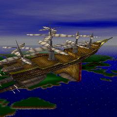 <i>Энтерпрайз</i> в <i>Final Fantasy Extra Collection</i> на PS CD-ROM.