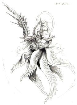 Safer Sephiroth FFVII Art
