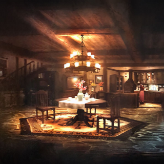 Aerith's house in Sector 5 slums.